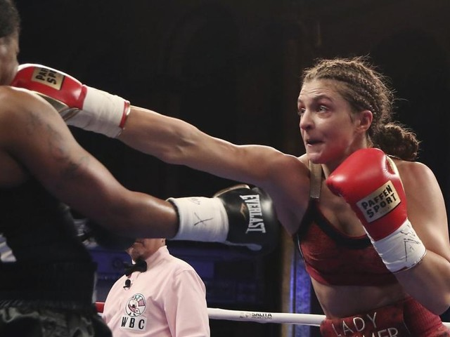"""Box-Weltmeisterin Hammer: """"Ein blaues Auge ist mir egal"""""""