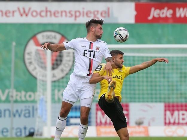 Dritte Liga: Der FC Viktoria Köln holt in Unterzahl einen Punkt