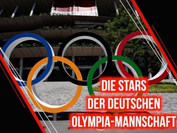 Die Stars der deutschen Olympia-Mannschaft