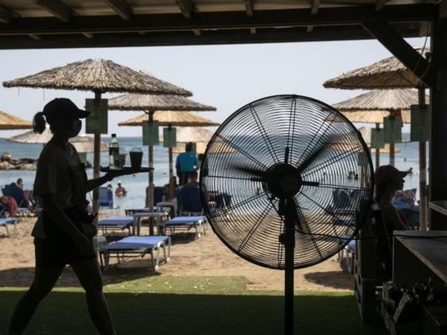 Hitzewelle in Griechenland erreicht ihren Höhepunkt