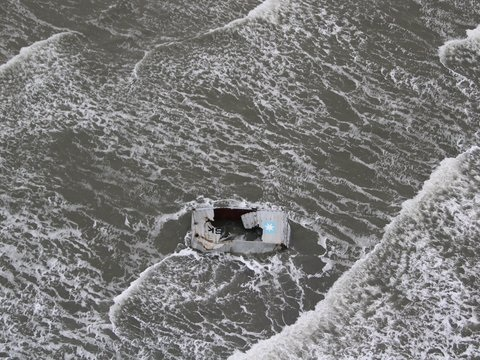 Nordsee: Bergung von rund 300 Containern begonnen