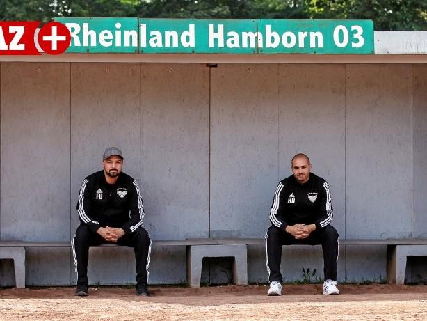Fußball: MSV-Gegner Rheinland Hamborn: mitten im sozialen Brennpunkt