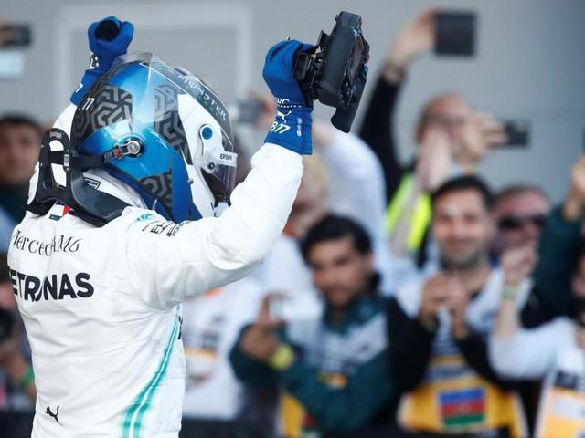 Nächster Mercedes-Doppelsieg: Bottas triumphiert in Baku