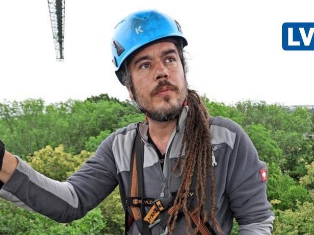 Was man in Baumkronen über Klimawandel lernt: Zum Leipziger Auwaldkran pilgern Forscher aus aller Welt