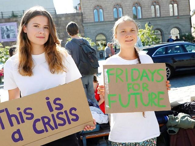 Zwei Tage vor Bundestagswahl: Greta Thunberg nimmt an Klimastreik in Berlin teil