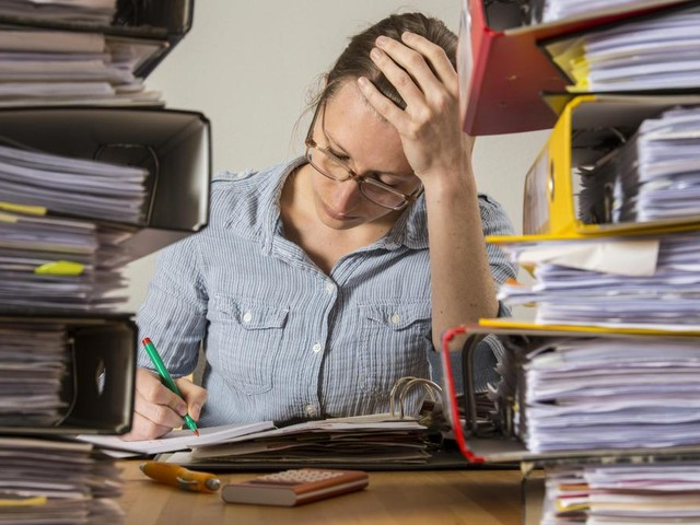 Fast jeder dritte Angestellte macht regelmäßig keine Pause
