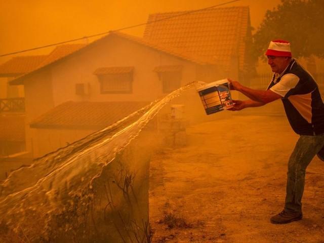 """Brände in Südeuropa: """"Wir haben kein Wasser"""""""
