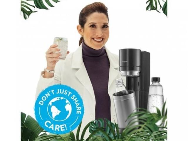 """Anlässlich des Earth Days – SodaStream kündigt mit Umweltkampagne """"Don't just share, care"""" ehrgeizige Nachhaltigkeitsziele an"""