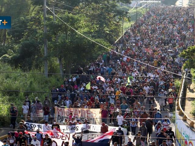 Mexikos Karawane der Verzweifelten
