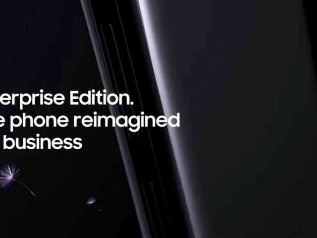 Samsung präsentiert das Galaxy S9 als perfektes Business-Smartphone im Video