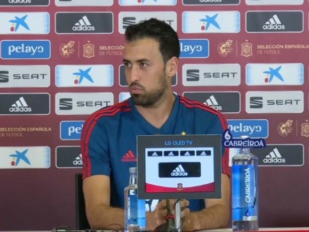 Nach Corona-Infektion: Spanien-Kapitän Busquets zurück
