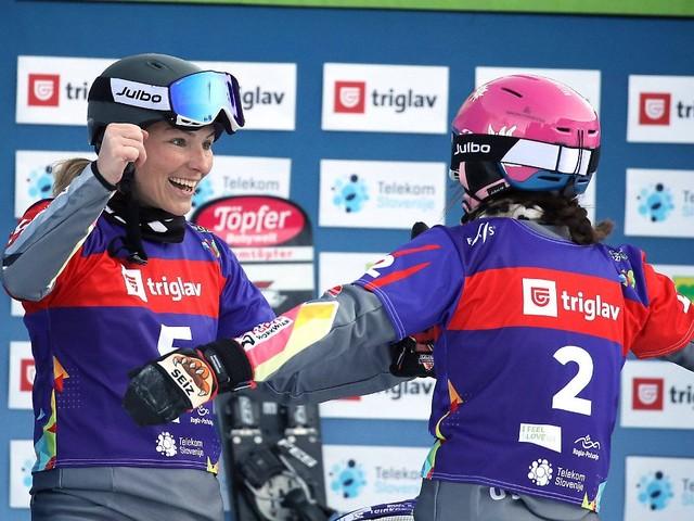 """Unbeschreiblich"", ""Wahnsinn"": Snowboarderinnen lassen's Medaillen regnen"