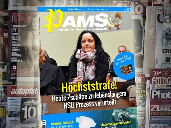 Morgen in PamS: Höchststrafe! Beate Zschäpe zu lebenslangem NSU-Prozess verurteilt