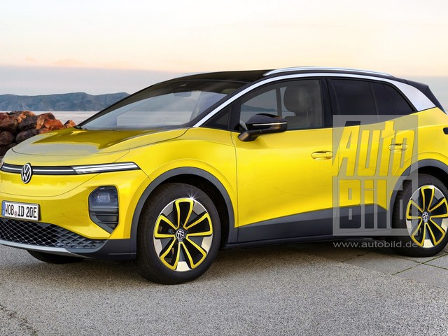 VW ID.2 (2023): Preis, Marktstart, Rendering Der ID.2, das kleinste Elektro-SUV von VW, könnte unter 20.000 Euro kosten