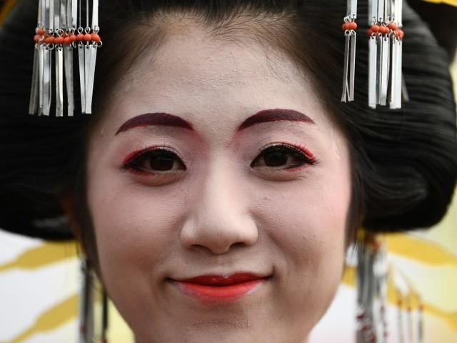 Auch Japans Geishas gehen in Coronakrise online