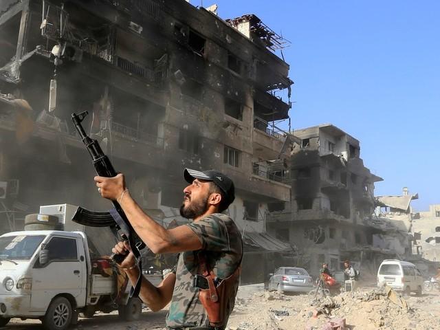 """Syrien: """"Kommt gut nach Hause!"""""""