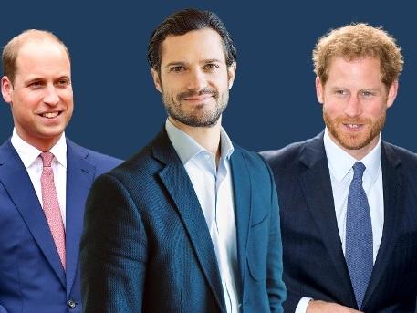 Wählen Sie den schönsten männlichen Royal!