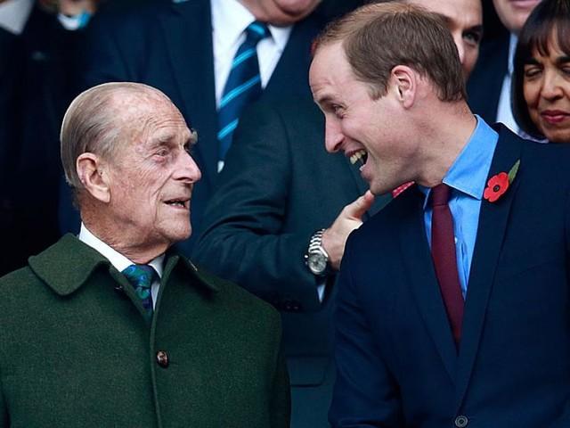Wie Prinz Philip den künftigen König William prägte