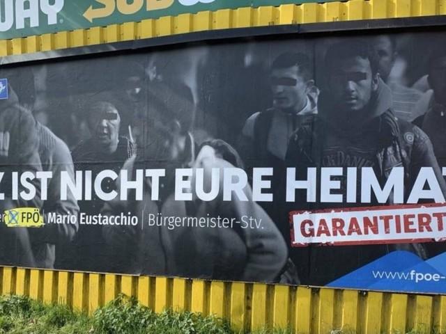 """""""Graz ist nicht eure Heimat"""": Scharfe Kritik an FPÖ-Plakatserie"""