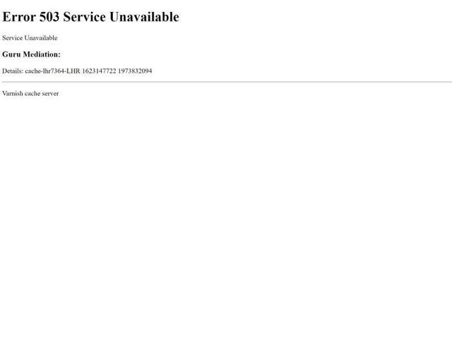 Internet: Weltweit Websites vorübergehend nicht erreichbar