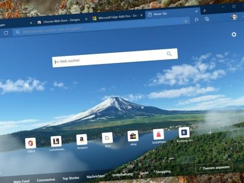 Microsoft-Browser Edge 88 ist da: Coole Optik und verbesserte Sicherheit