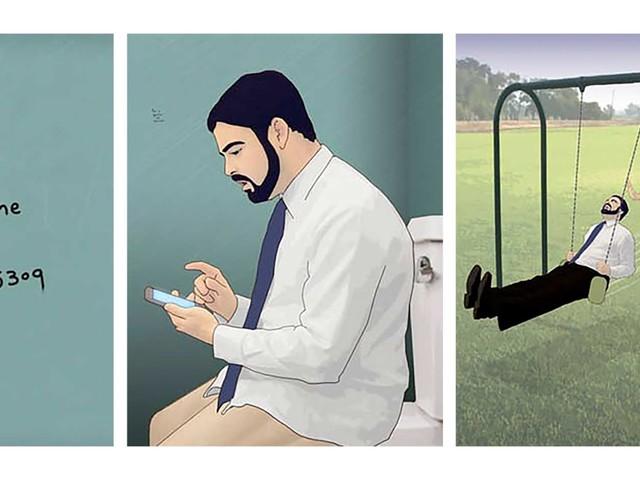 Sarkastische Webcomics von David Daneman