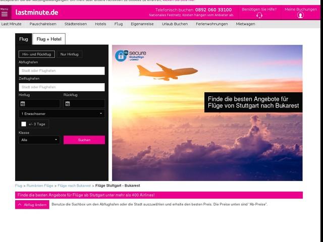 Flüge Stuttgart - Bukarest ab 95€ - lastminute.de