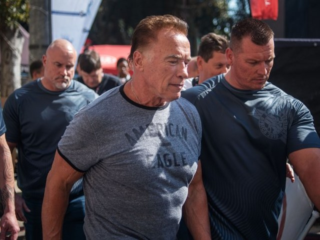 Südafrika: Arnold Schwarzenegger bei Sportveranstaltung attackiert
