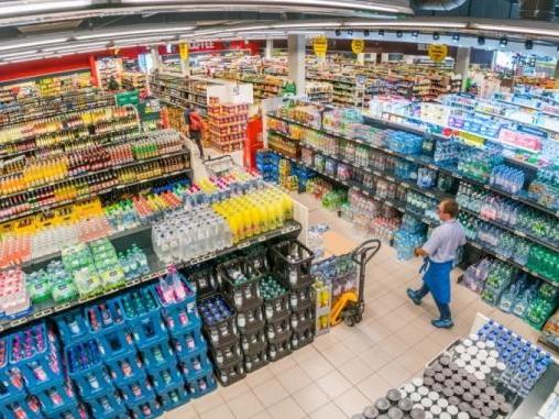 Ein Lebensmittel-Kaufhaus für die City