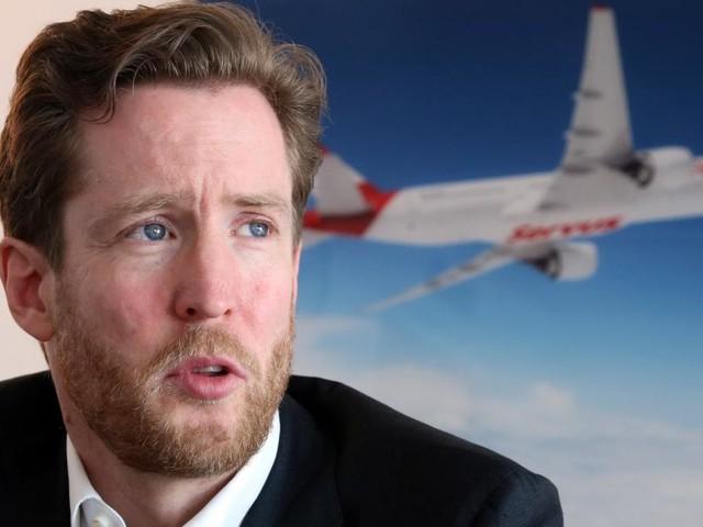 """AUA-Chef: """"Wir haben nichts dagegen, wenn weniger geflogen wird"""""""