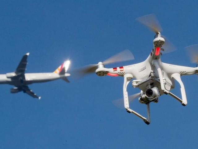 31 Drohnen-Zwischenfälle am Frankfurter Flughafen