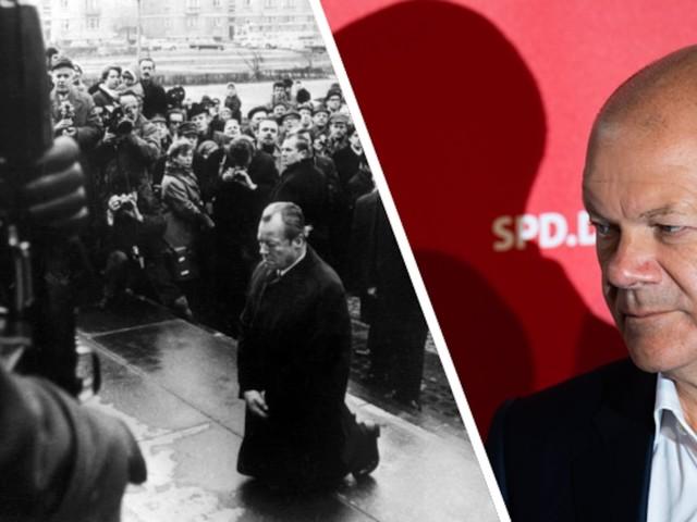 Analyse von Ulrich Reitz - Immer auf der falschen Seite? Scholz' SPD stand historisch auch ein, zwei Mal richtig