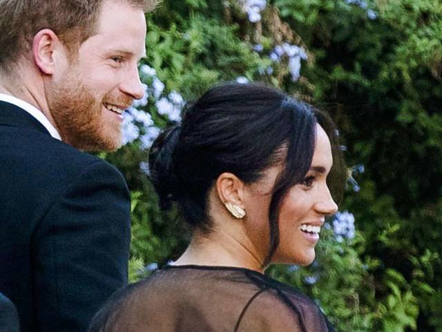 Herzogin Meghan: Ganz in Schwarz bei Luxus-Promi-Hochzeit - Auch Ivanca Trump feiert mit