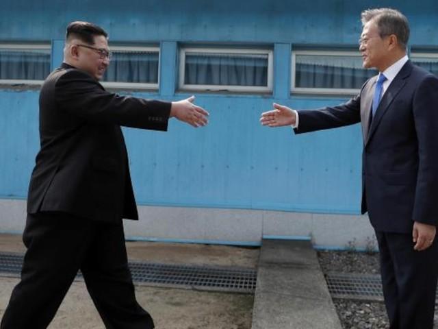 Auch ein Zeichen für die USA - Nach mehr als einem Jahr sprechen Nord- und Südkorea nun wieder miteinander
