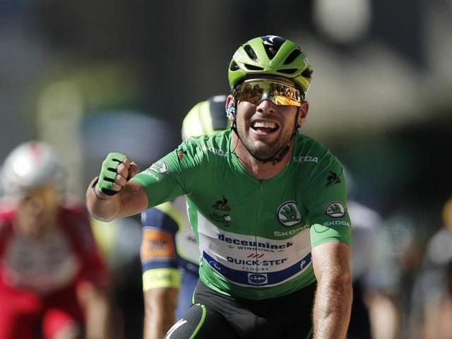 Mark Cavendish stellte den Rekord von Eddy Merckx ein