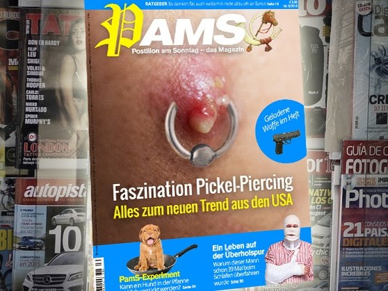Morgen in PamS: Faszination Pickel-Piercing – Alles zum neuen Trend aus den USA