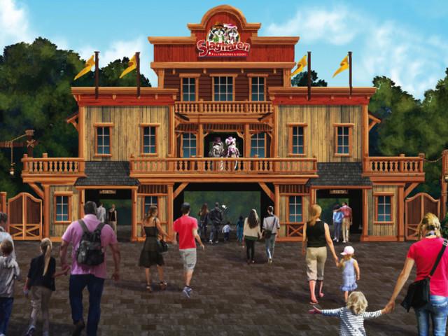 Freizeitpark Slagharen 2018 zum 55. Jubiläum mit neuem Eingangs-Bereich und mehr Neuheiten