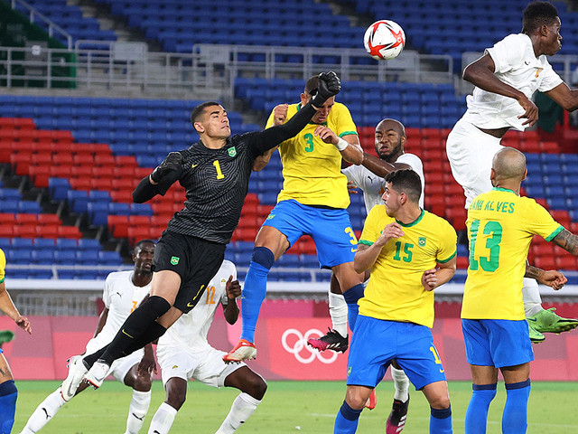 Olympia: Brasilien patzt - Frankreich siegt dramatisch