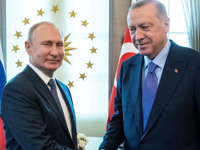 Putin lädt Erdogan nach Russland ein
