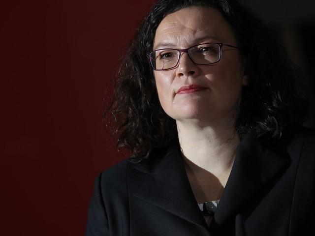 SPD: Andrea Nahles tritt zurück