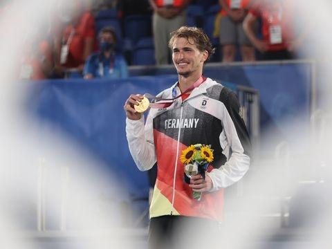 Tennis-Ass: Zverev denkt nach Olympiasieg über Turnier-Pause nach