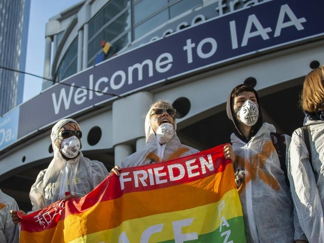 Aktivisten blockierten stundenlang IAA-Zugänge