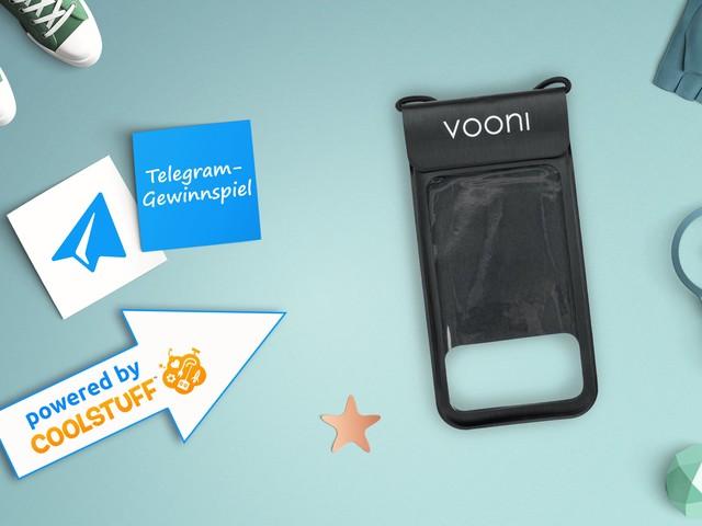 Das Telegram Gewinnspiel: Gewinne eine von zehn wasserdichten Handyhüllen