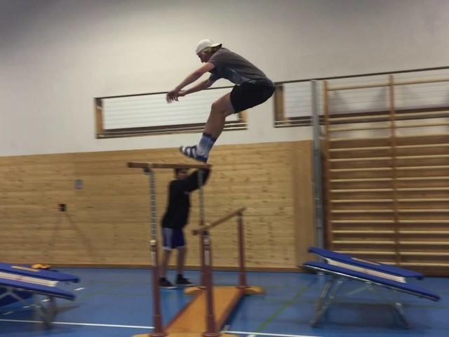 Training Andri Ragettli