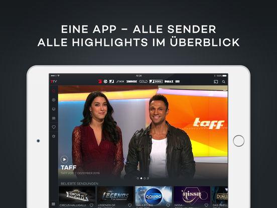 7TV: Live-Stream von ProSieben, Sat.1, Kabel1 und Co. jetzt kostenlos