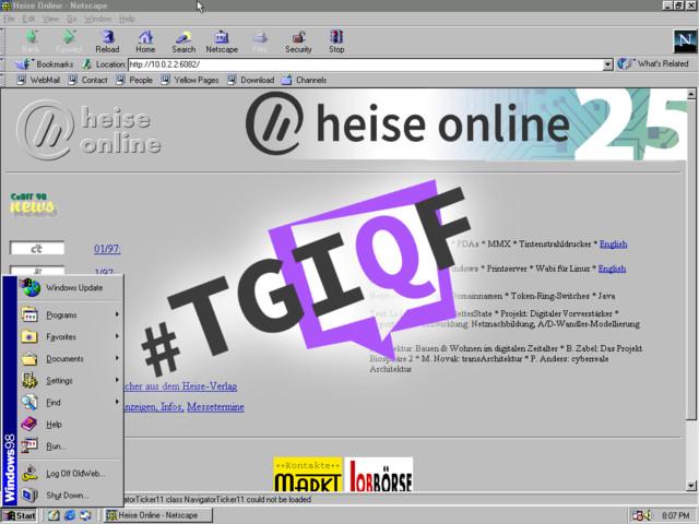 #heiseonline25 - das Freitagsquiz um heise online-Highlights