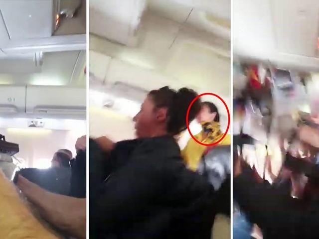 Flug nach Basel: Stewardess wird während Turbulenzen an die Decke geschleudert