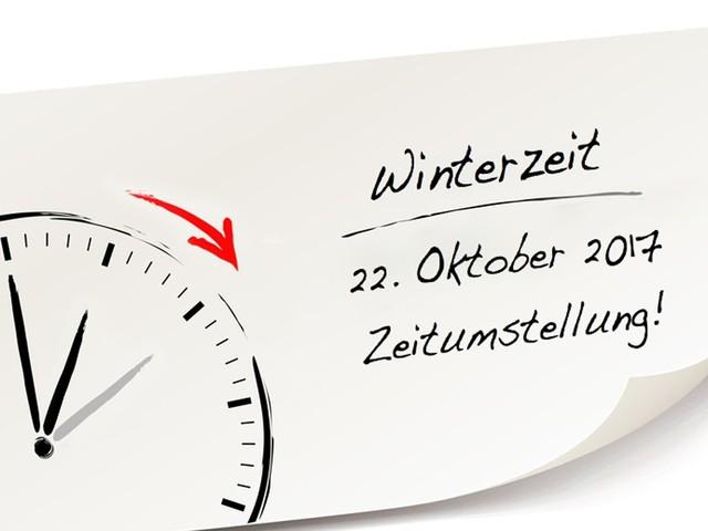 Nicht vergessen! Diesen Sonntag werden die Uhren eine Stunde vorgestellt