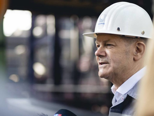 Stromnetzausbau: Scholz will Gesetze schnell ändern - und nimmt dafür Streit in Kauf