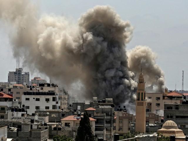 Nahostkonflikt: Israel fliegt Luftangriffe im Gazastreifen